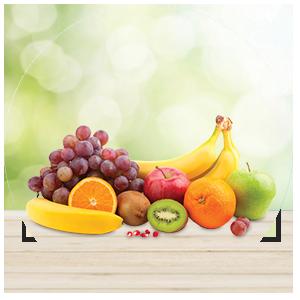Matig met fruit