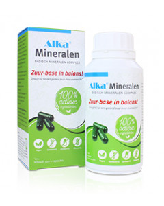 Alka® Mineralen - 120 vegicaps - Nederlands label