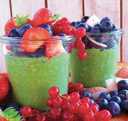 Greens overnight chiazaad ontbijt