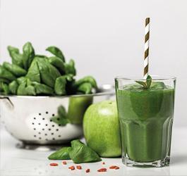 Een frisse groene smoothie